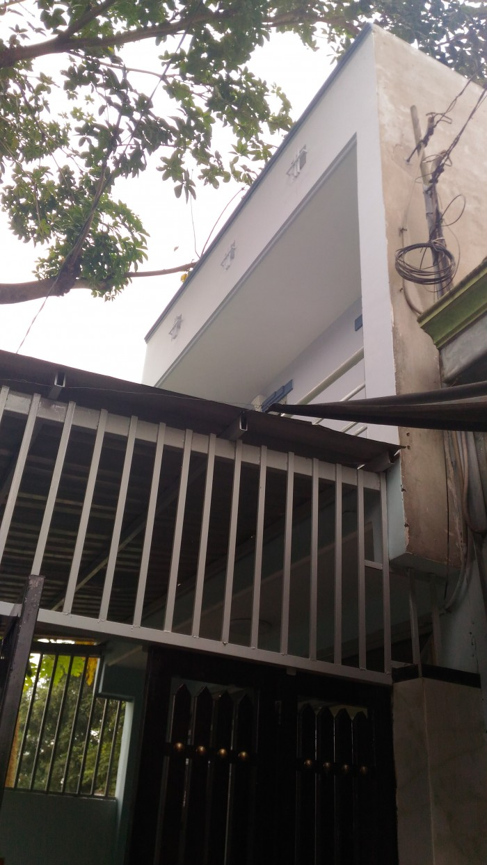 Nhà sổ hồng riêng phường  Hiệp Thành, Q12 một trệt, một lầu