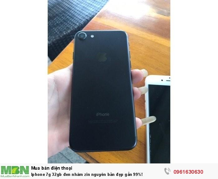 Iphone 7g 32gb đen nhám zin nguyên bản đẹp gần 99%!
