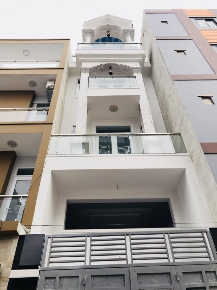 Bán Nhà hẻm 368 Nguyễn Văn Lượng, phường 16, quận Gò Vấp,  4 x 17m, 1 Trệt + 1 lửng, 3 Lầu
