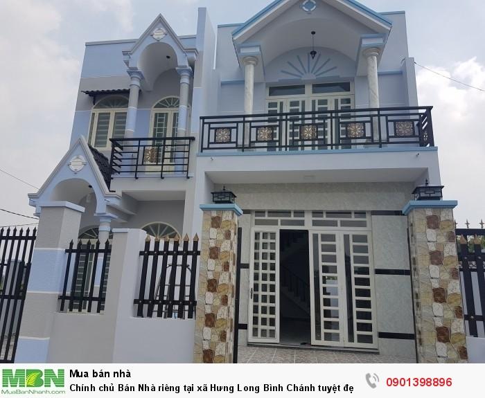 Chính chủ Bán Nhà riêng tại xã Hưng Long Bình Chánh tuyệt đẹp