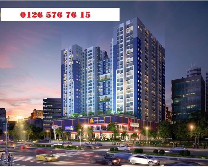 Bán căn hộ chung cư cao cấp ngay trung tâm Q.Thủ Đức, căn hộ 2PN, có ban công và lô gia