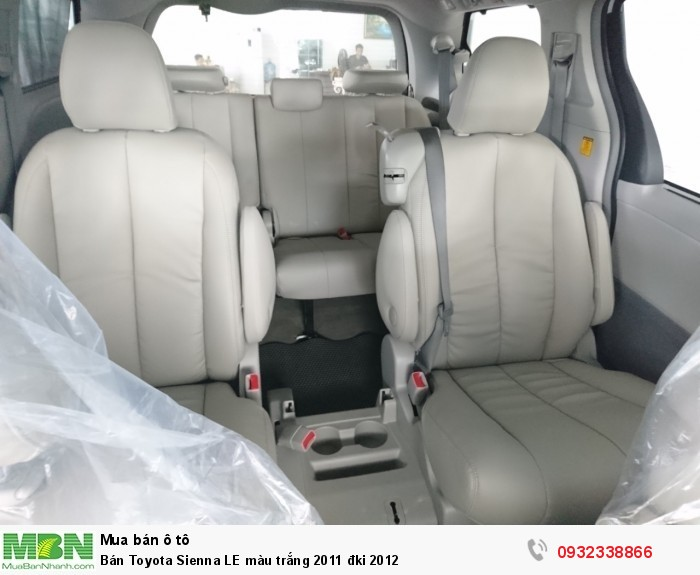 Bán Toyota Sienna LE màu trắng 2011 đki 2012 7
