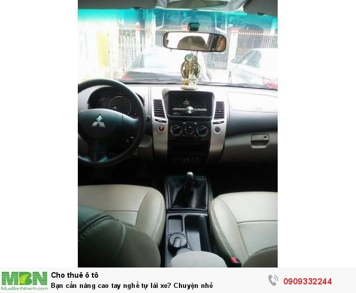 Bạn cần nâng cao tay nghề tự lái xe? Chuyện nhỏ 6