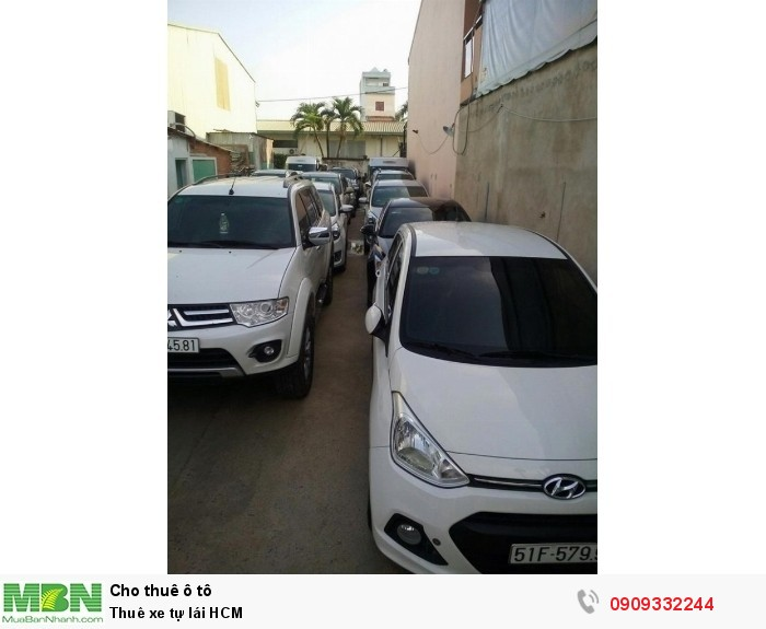 Thuê xe tự lái HCM 1