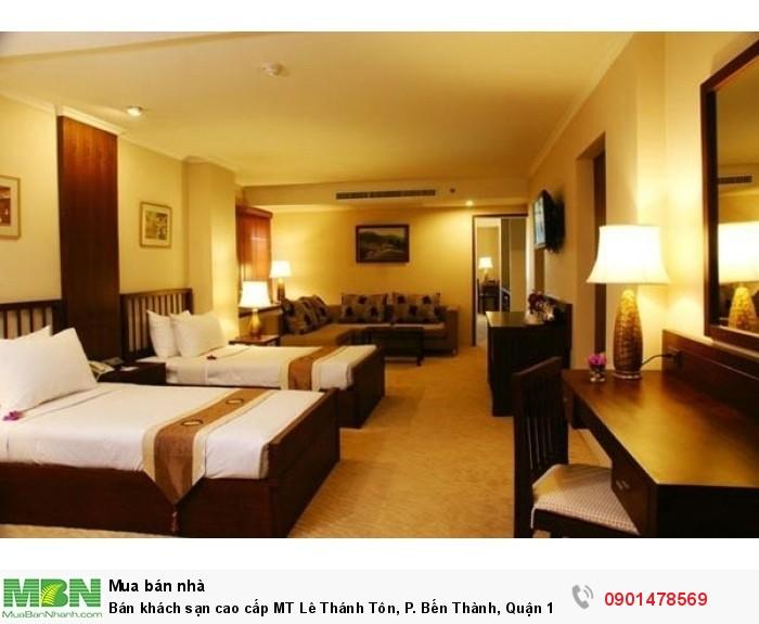 Bán khách sạn cao cấp MT Lê Thánh Tôn, P. Bến Thành, Quận 1, DT: 4x20m, 7 lầu.