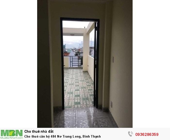 Cho thuê căn hộ 484 Nơ Trang Long, Bình Thạnh