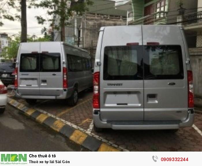 Thuê xe tự lái Sài Gòn 2