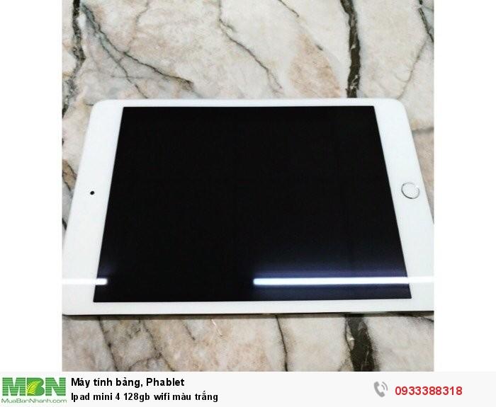 Ipad mini 4 128gb wifi màu trắng0