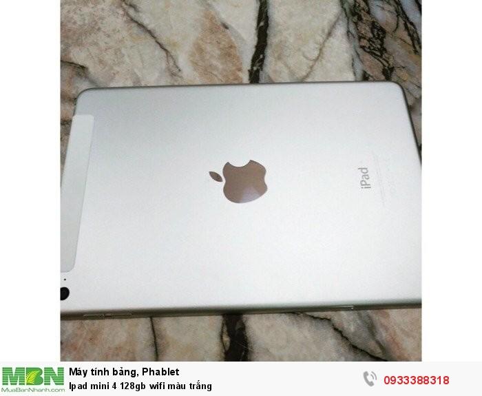 Ipad mini 4 128gb wifi màu trắng1