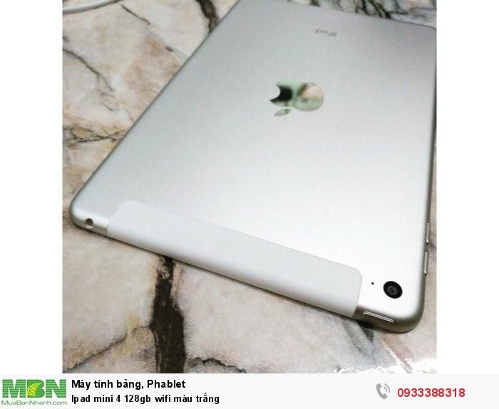 Ipad mini 4 128gb wifi màu trắng2