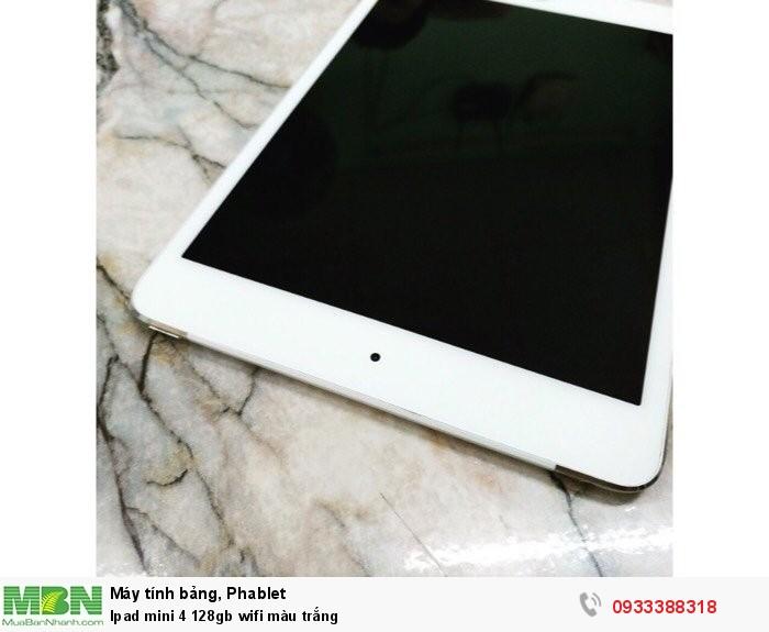 Ipad mini 4 128gb wifi màu trắng3