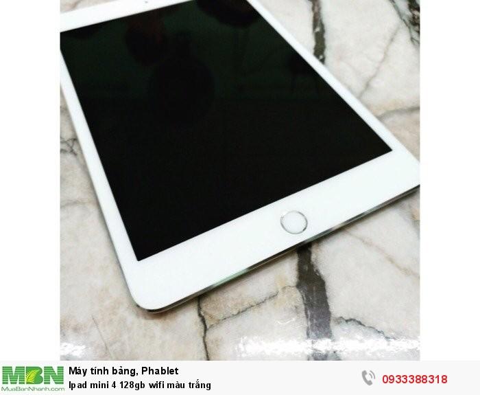 Ipad mini 4 128gb wifi màu trắng4