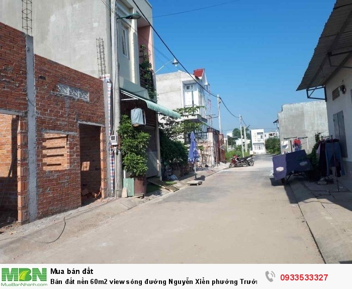 Bán đất nền 60m2 view sông  đường Nguyễn Xiển phường Trường Thạnh quận 9