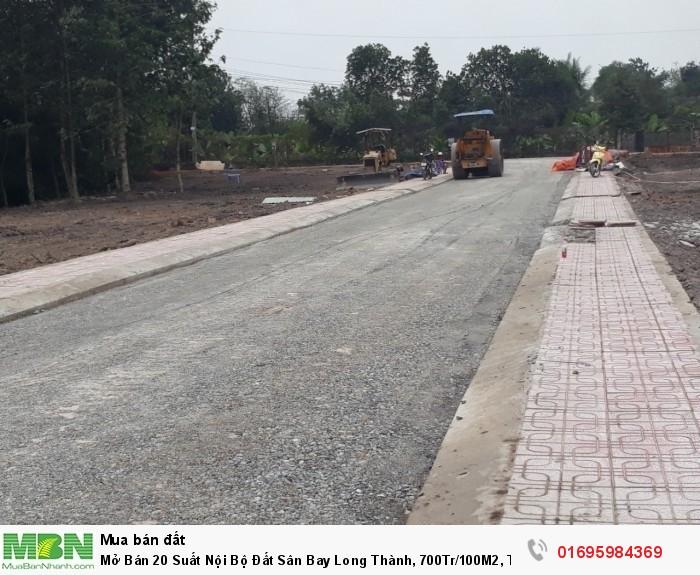 Mở Bán 20 Suất Nội Bộ Đất Sân Bay Long Thành, 700Tr/100M2, Thổ Cư 100%