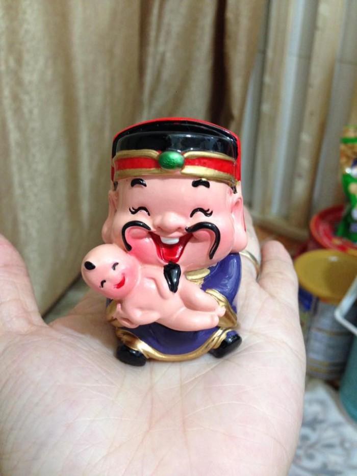 Bộ tượng 5 ông Thần Tài - loại to bằng sứ16