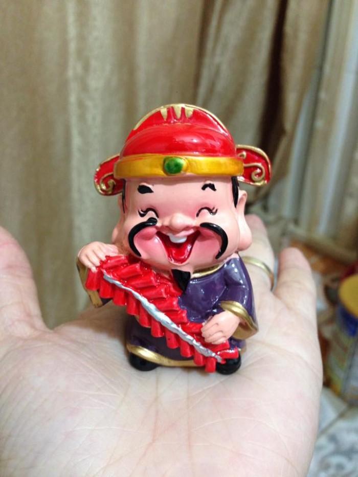 Bộ tượng 5 ông Thần Tài - loại to bằng sứ12