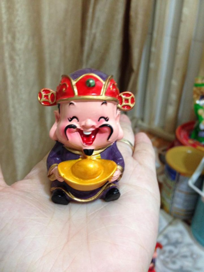 Bộ tượng 5 ông Thần Tài - loại to bằng sứ2