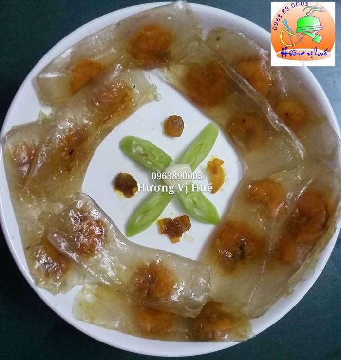 Khách ăn gì ủng hộ em nhé : bánh bột lọc , bánh nậm , chả huế ( chay - mặn)11