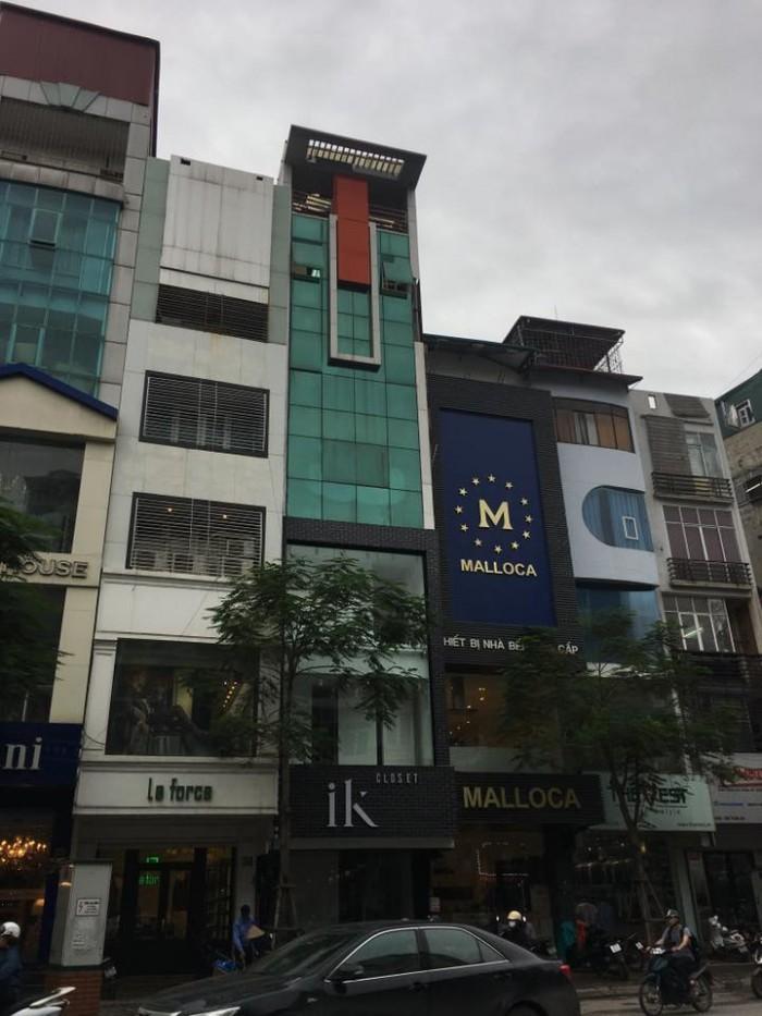 Bán nhà mặt phố Sơn Tây, Ba Đình lô góc DT 70m2