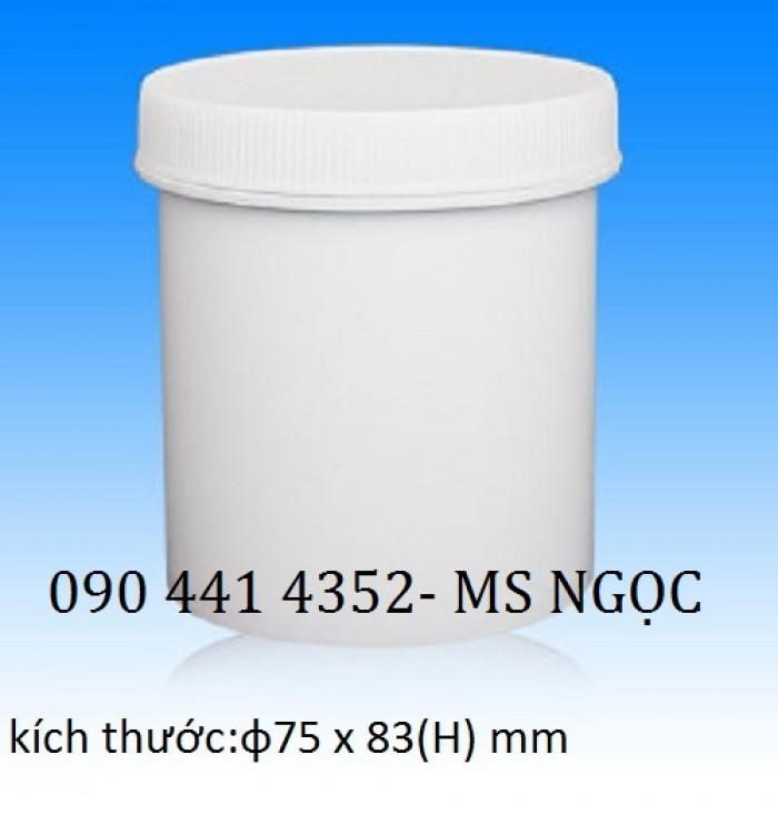 Hủ nhựa đựng thuốc tây 250 ml,  350 ml, 500 ml, 750 ml. Hủ nhựa đựng thực phẩm 1 lít, 2 lít