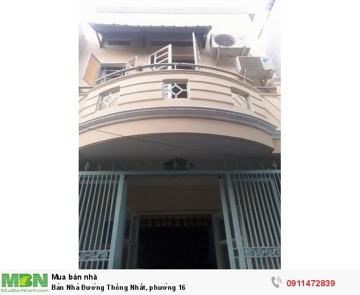 Bán Nhà Đường Thống Nhất, phường 16