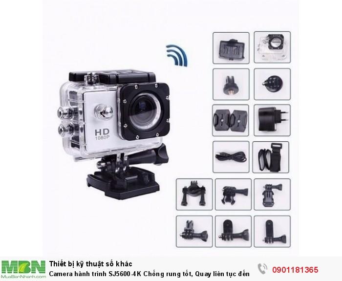 Camera hành trình SJ5600-4K là một phiên bản mới được SJCAM giới thiệu trên thị trường, mang tới những trải nghiệm vô cùng thú vị, sản phẩm được trang bị cấu hình mạnh mẽ, khả năng quay video 4K chắc chắn sẽ mang tới sự hài lòng và thích thú khi sử dụng.