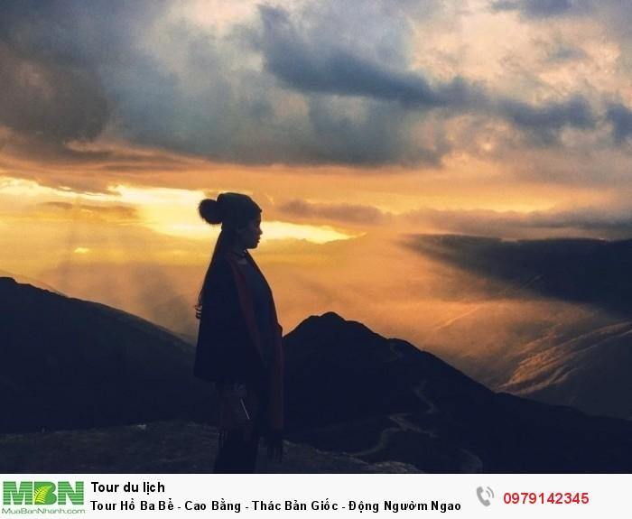 Tour Hồ Ba Bể - Cao Bằng - Thác Bản Giốc - Động Ngườm Ngao - suối Lê Nin (3N/2Đ)