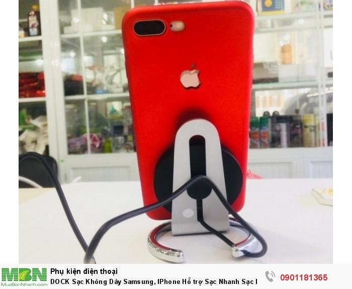 Tương Thích: IPhone 8, IPhone 8 Plus, IPhone X, Samsung flagship phone, Các Mẫu Smartphone hỗ trợ sạc không dây.