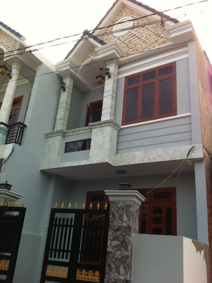 Bán nhà hẻm nhựa 4m thông đường Lê Sát, Tân Quý, Tân Phú. Diện tích 4x15, Đúc 1 lầu BTCT
