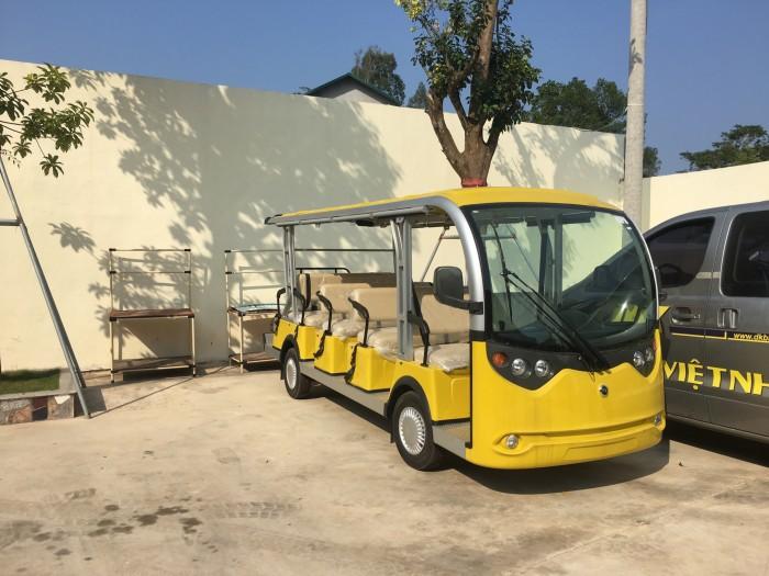 Xe điện 14 chỗ nhập khẩu giá tốt, đủ điều kiện tham gia giao thông