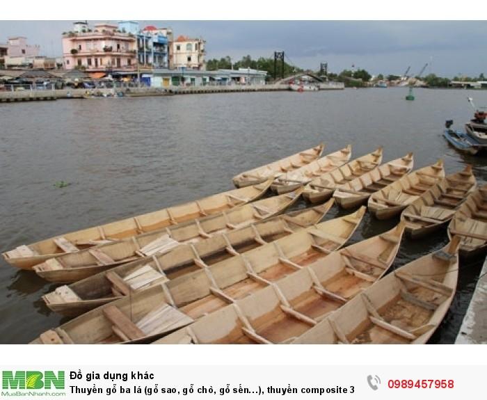 Nhận đóng thuyền gỗ ba lá (gỗ sao, gỗ chò, gỗ sến…), thuyền composite 3 lá, đóng thuyền theo yêu cầu0
