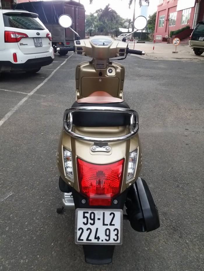 Kymco Like 125Fi Vàng Gold 2016 Kiểu Dáng Vespa Phun Xăng Điện Tử Phiên Bản Đặc Biệt Tuyệt Đẹp.