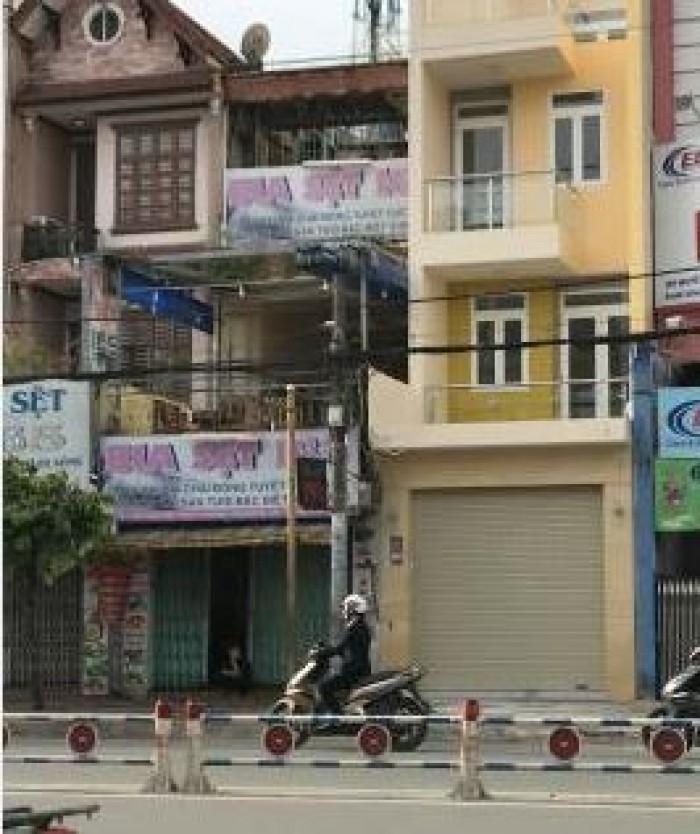 Bán nhà mặt tiền đường Nguyễn Văn Lượng, phường 10, quận Gò Vấp, 3,7 x 25,4m, 1 Trệt + 3 Lầu