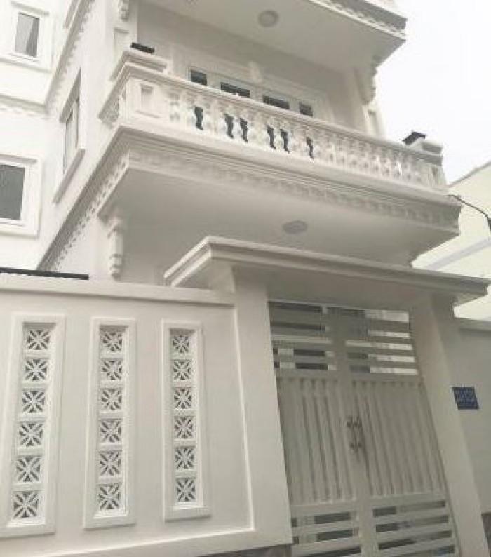 Bán Nhà hẻm 254 Lê Văn Thọ, phường 11, quận Gò Vấp, 5 x 13m, 1 Trệt + 2 Lầu, giá 4,33 tỷ