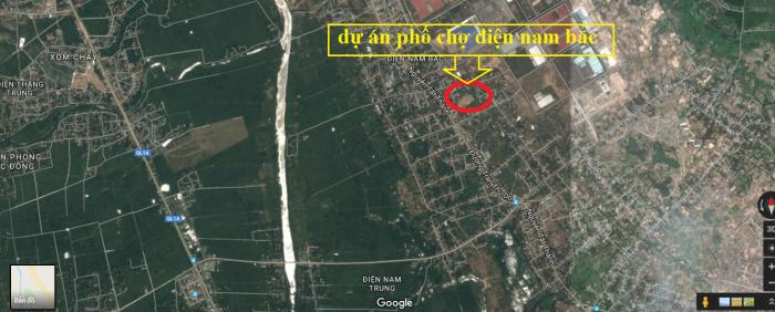 Mở bán dự án phố chợ Điện Nam Bắc mặt tiền Trần Đại Nghĩa
