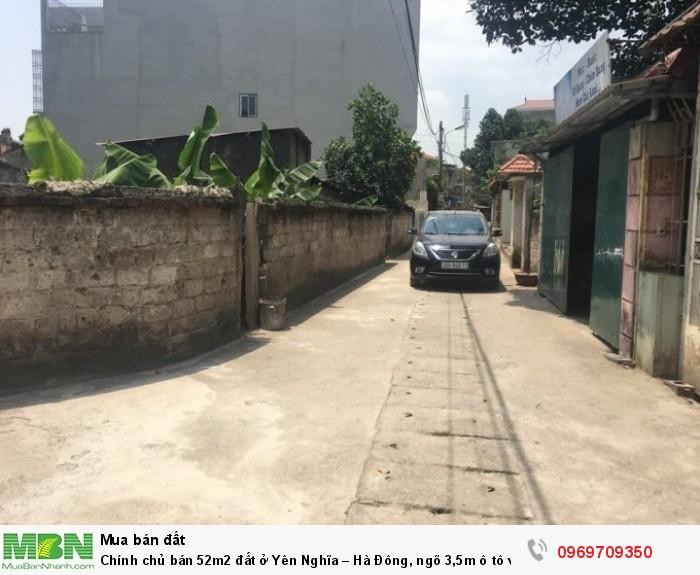 Chính chủ bán 52m2 đất ở Yên Nghĩa – Hà Đông, ngõ 3,5m ô tô vào tận nhà.