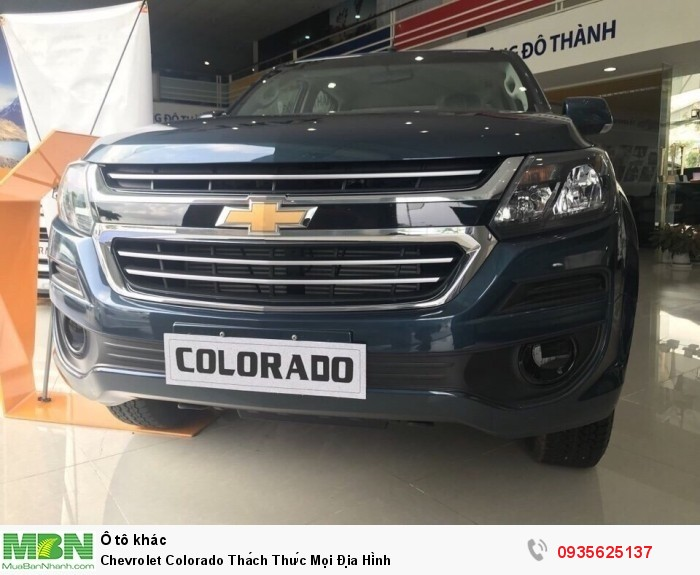 Chevrolet Colorado Thách Thức Mọi Địa Hình