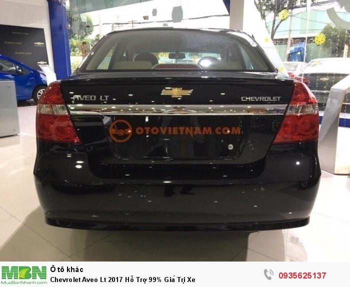 Chevrolet Aveo Lt 2017 Hỗ Trợ 99% Giá Trị Xe