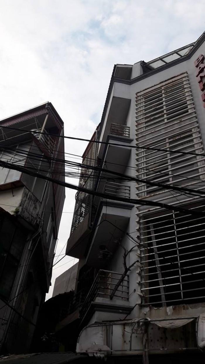 Bán nhà mặt phố Hàng Cót Hoàn Kiếm, 50m2 5 tầng Mt 10m
