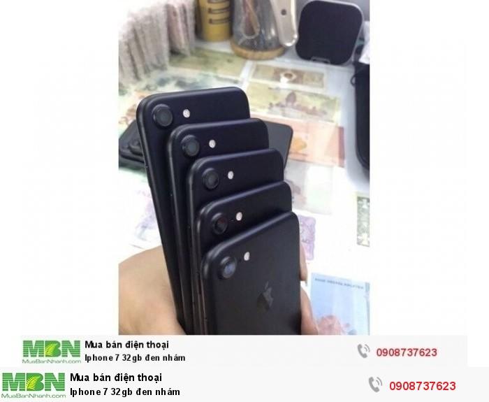 Iphone 7 32gb đen nhám