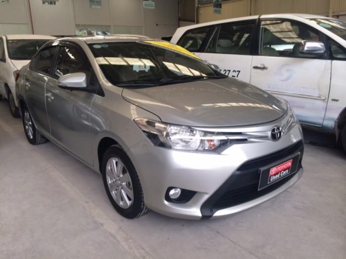 Toyota Vios E - Màu Bạc - 2015