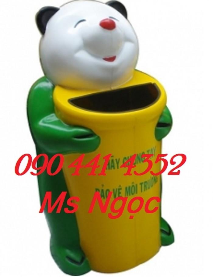 Siêu thị thùng rác- thùng rác nhựa hình con vật giá rẻ