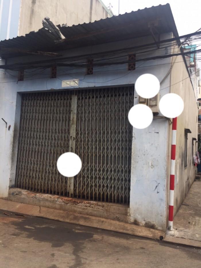 Bán nhà 2 MT hẻm đường Nguyễn Văn Yến đủ lộ giới 5x16m