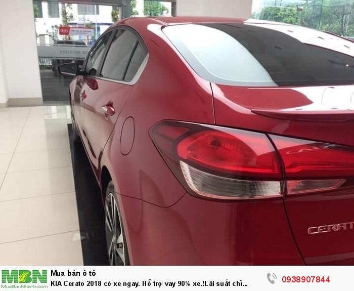 KIA Cerato 2018 có xe ngay. Hỗ trợ vay 90% xe.!Lãi suất chỉ 0.65%!!! 5