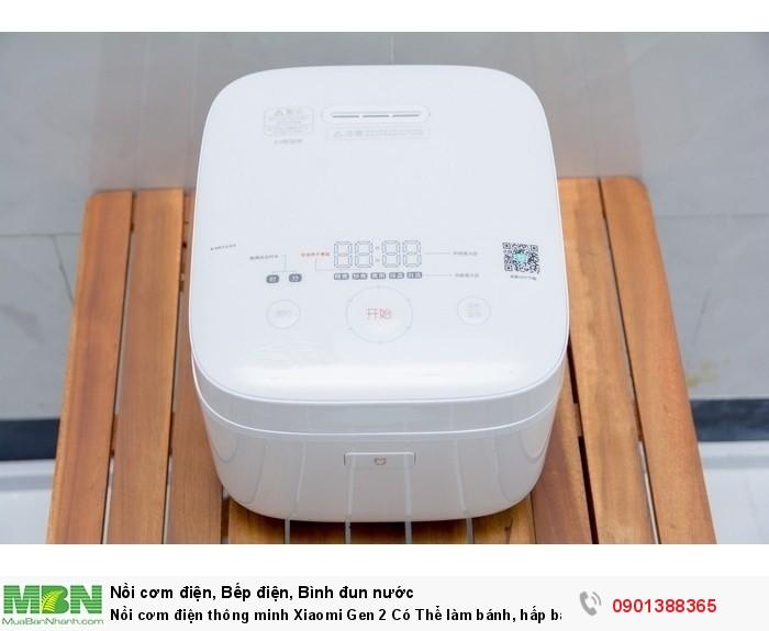 Nồi cơm điện thông minh Xiaomi Gen 2 Có Thể làm bánh, hấp bánh, nấu cháo, hầm,… - MSN388127