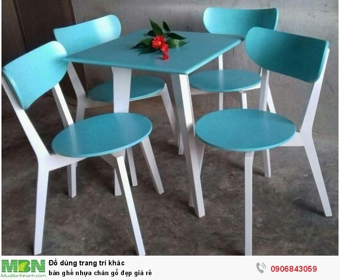 bán ghế nhựa chân gỗ đẹp giá rẻ4