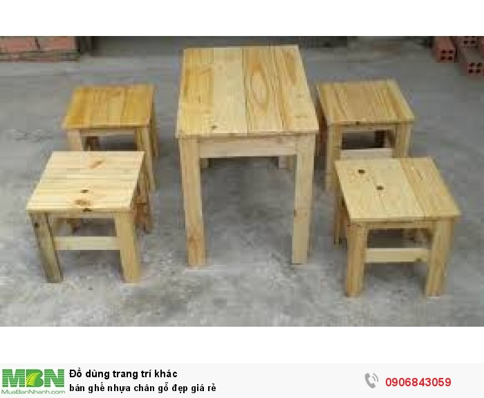 bán ghế nhựa chân gỗ đẹp giá rẻ5