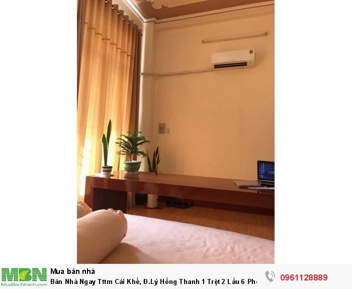 Bán Nhà Ngay Tttm Cái Khế, Đ.Lý Hồng Thanh 1 Trệt 2 Lầu 6 Phòng Ngũ