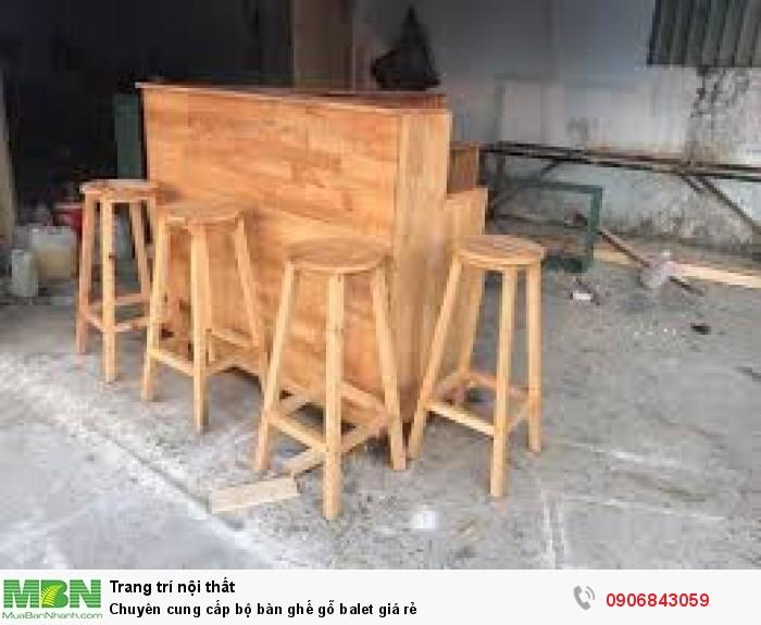 Chuyên cung cấp bộ bàn ghế gỗ balet giá rẻ1