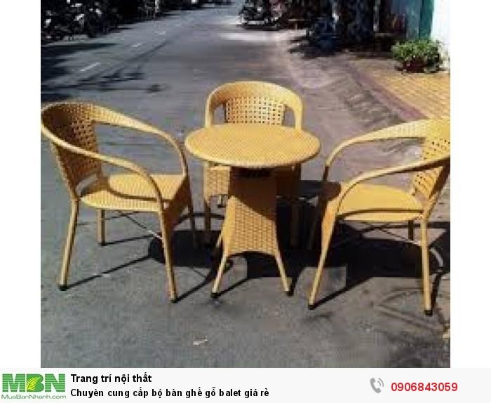 Chuyên cung cấp bộ bàn ghế gỗ balet giá rẻ2